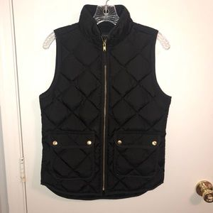 Women's J. Crew Quilted Excursion Puffer Vest XS